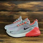 Кроссовки Nike Air 270 женские 0007 серые