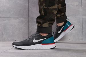 Кроссовки мужские Nike Epic React темно-серые 16103