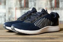 Кроссовки мужские Yike Running 16463 синие