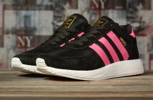 Кроссовки женские Adidas Iniki 16873 черные