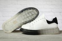 Кроссовки женские Covaleu MkQueen 17161 белые с черным