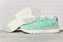 Кроссовки женские Adidas 3M 17318 зеленые
