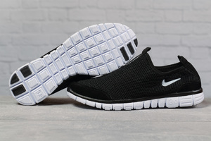 Кроссовки Nike Free 3.0-17494 черные с белым, мужские