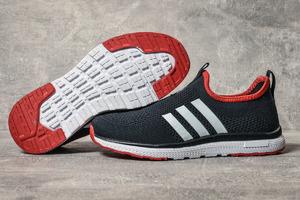 Кроссовки Adidas sport 17603 темно-синие, женские