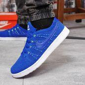 Кроссовки мужские Nike Tennis Classic Ultra Flyknit 18083 синие
