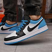 Кроссовки мужские Nike Jordan 18251 белые с синим