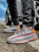 Кроссовки мужские Adidas Yeeze Boost 350-18411 серые