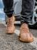 Кроссовки мужские Adidas Yeeze Boost 350-18412 коричневые